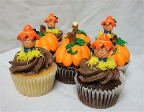 easy fall cupcake decorating ideas on the side after five easy pumpkin cupcake recipe