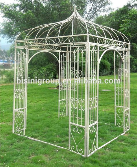 Iron Gazebo Europe Style Outdoor Garden Wrought Iron Gazebo Bf10 M545