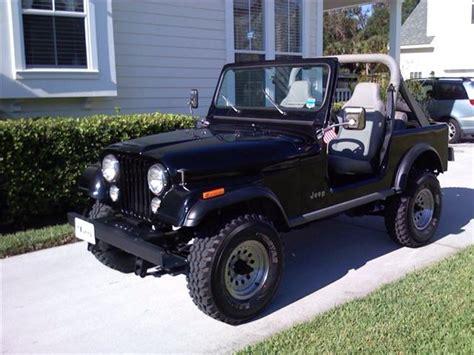 85 jeep cj7 jeepclassifieds restored 85 cj7 for sale