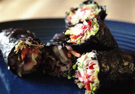 Detox Algae Wrap by Detox Seaweed Burrito Beautylish