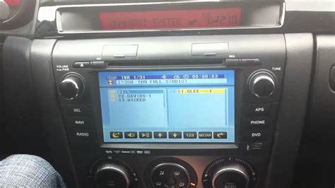 2005 mazda 3 radio mazda 3 navi radio teil 2