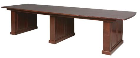 Solid Wood Conference Table Amish Made Solid Wood Conference Table
