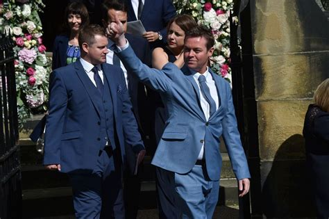 paddy mcguinness wedding photos declan donnelly wedding holly willoughby paddy