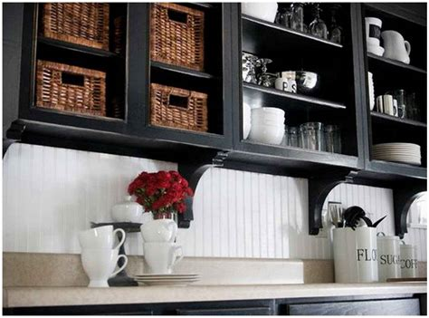 affordable kitchen makeover wallpaper backsplash feel