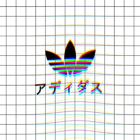 aesthetic adidas wallpaper adidas background black color grids image 4080185
