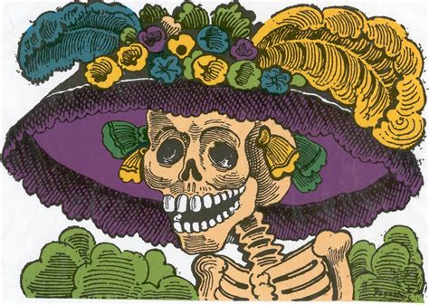 imagenes de calaveras verdes visoronline d 237 a de muertos la catrina tradici 243 n mexicana