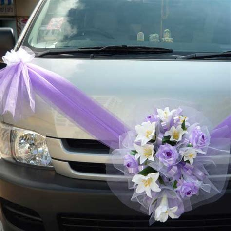 Wedding Car Flowers decoration