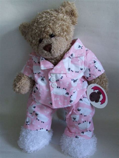 free cloth teddy bear patterns teddy bear clothes pink sheep p j s slippers bear