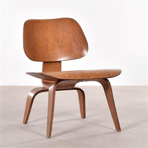 Charles And Eames by American Lcw Ash Lounge Chair By Charles Eames For