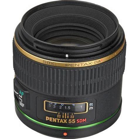 new pentax new pentax da 55mm f1 4 sdm lens ebay