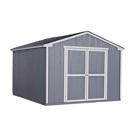 handy home products cumberland 10 ft x 12 ft wood shed
