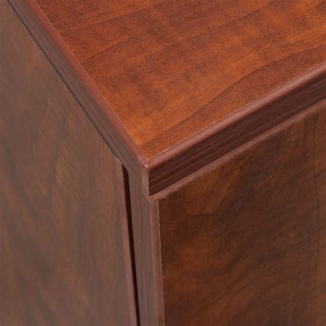 everyday cabinets everyday 36 in laminate storage cabinet cherry national