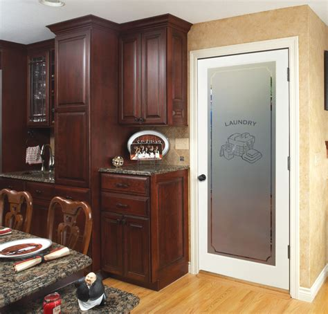 Interior Laundry Room Doors Decorative Glass Interior Doors Laundry Room Other Metro By Homestory Doors More
