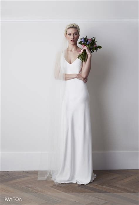 sleek  minimalist wedding dresses  modern brides