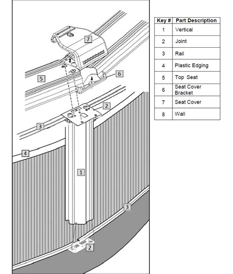pool parts diagram above ground swimming pool parts
