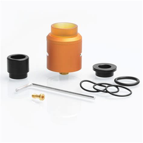 Authentic Rda Druga 24 24 99 authentic augvape druga rda orange 24mm rebuildable atomizer
