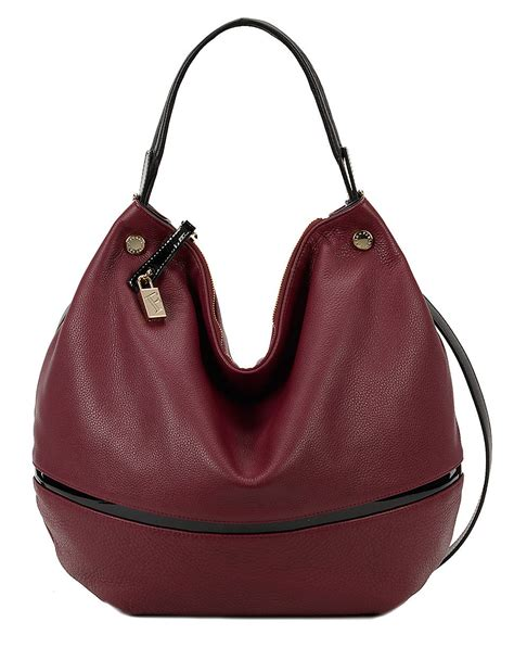 Furla Cevro furla montmartre cervo patent leather hobo bag in lyst