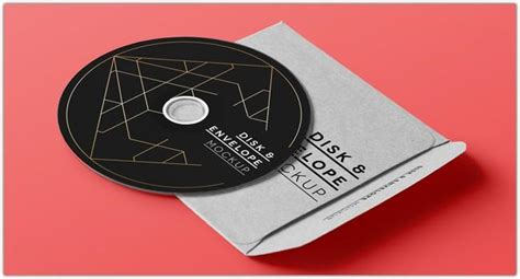 20 Cd Dvd Cover Mockups Psd Templates Utemplates Cd Mockup Template