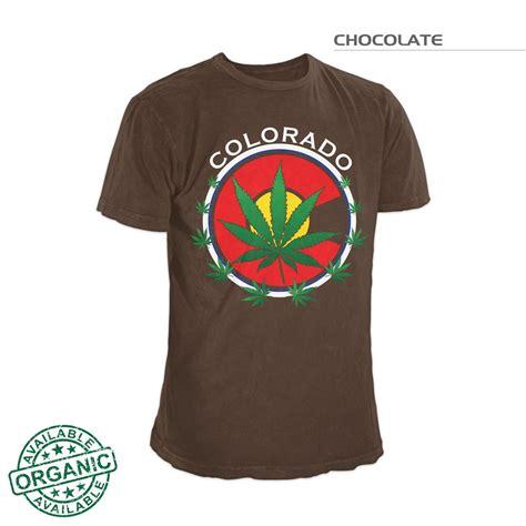 Tshirt 4 20 Marijuana Organic colorado flag pot colorado pot tshirt colorado 420 t