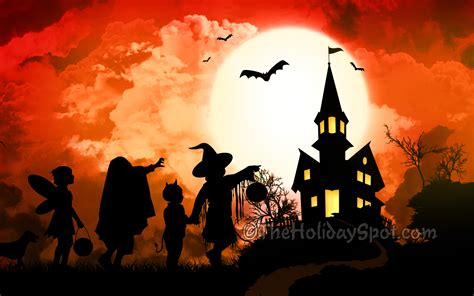 halloween themes for mobile halloween wallpapers orange background hd desktop