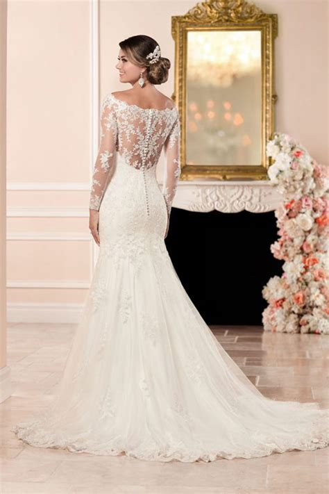 Stella York 6353 ? Long sleeved wedding dress with