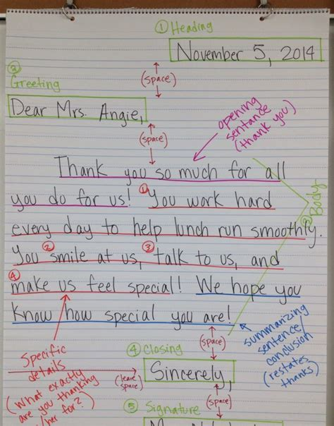 thank you letter to 2nd grade 17 best images about letter writing resources on