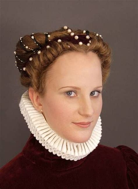 Elizabethan Hairstyles by 1000 Images About Elizabethan Hair Styles On