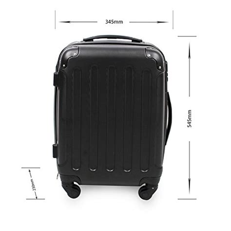 valigia cabina valigia da cabina 55 cm valigetta rigida trolley 4 ruote