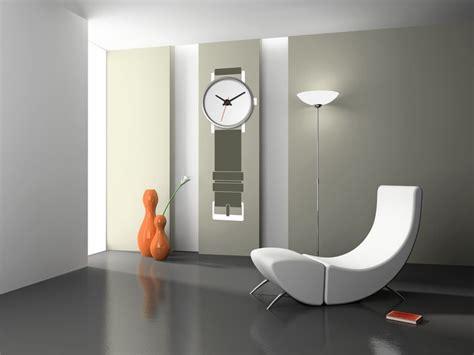 imagenes paredes minimalistas vinilos para decorar relojes de pared mil ideas de