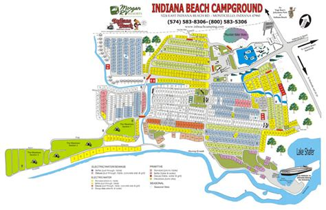 indiana resort map related keywords suggestions for indiana cground