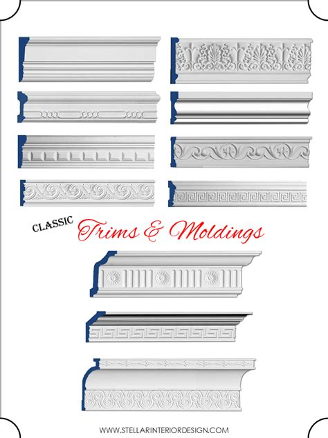 Colonial Trim by Moldings Archives Stellar Interior Design
