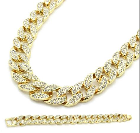 cadenas cubanas miami compra collar de cadena de oro cubano online al por mayor