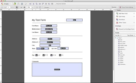 adobe acrobat form templates adobe acrobat form templates pre filling pdf form