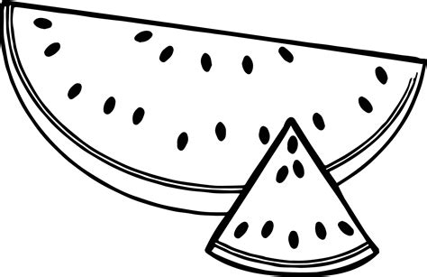 watermelon colouring pages www pixshark images