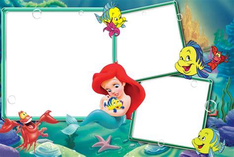 como poner imagenes png en un video marcos de fotos de la sirenita bellos marcos para tus