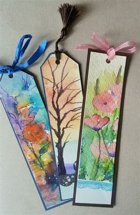 Handmade Bookmarks Designs - 25 best ideas about handmade bookmarks on diy