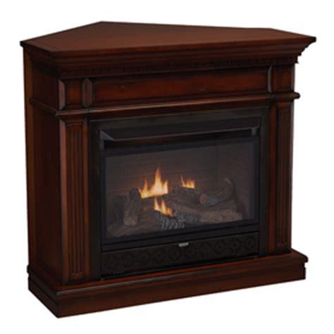 Cedar Ridge Hearth Gas Fireplace by Shop Cedar Ridge Hearth 42 In Dual Burner Vent Free Auburn
