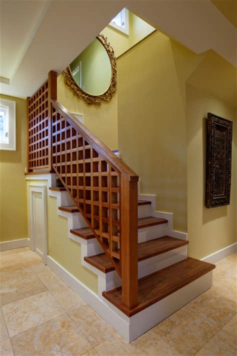 home interior design steps house interior staircase transitional