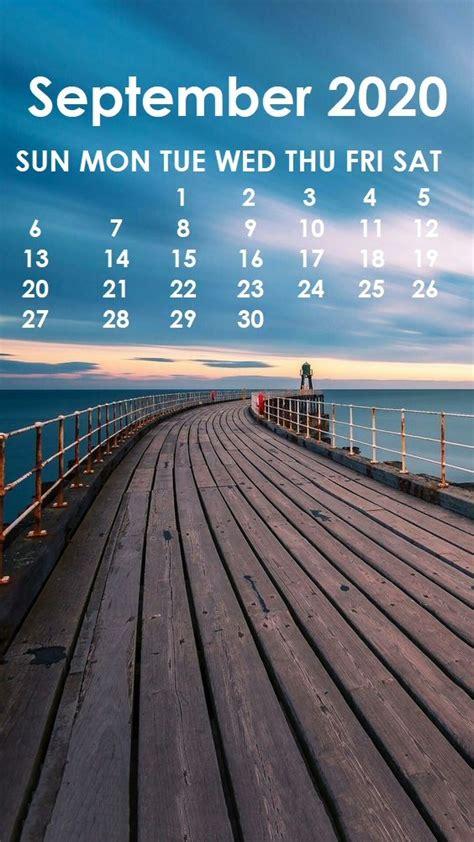 september  iphone wallpaper calendar wallpaper months   year