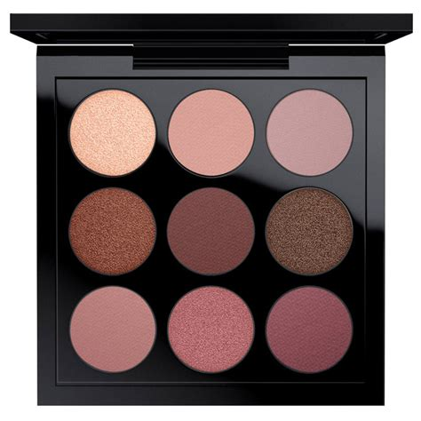 Eyeshadow X 9 Times Nine Tutorial mac burgundy times nine eyeshadow x 9 palette kaufen
