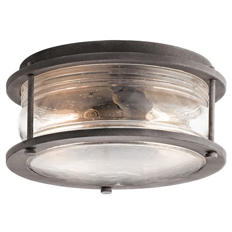 Outdoor Ceiling Lighting Ashland Bay 2 Light Outdoor Ceiling Light In Wzc