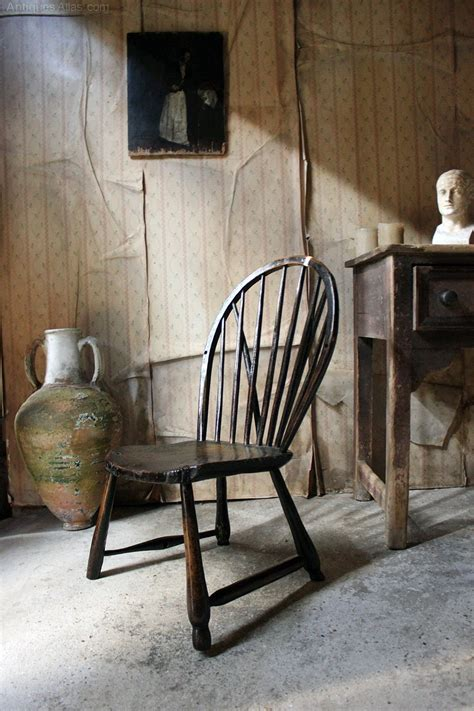 braced bow back chair black painted braced bow back chair c 1800