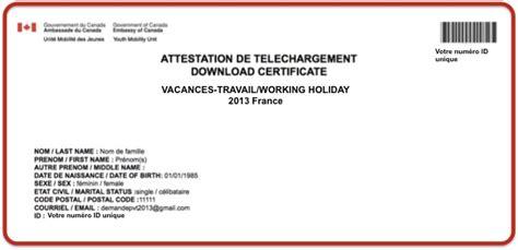 Lettre De Motivation Visa Pvt Argentine Lettre De Prise En Charge Pour Visa Etudiant Canada 2014