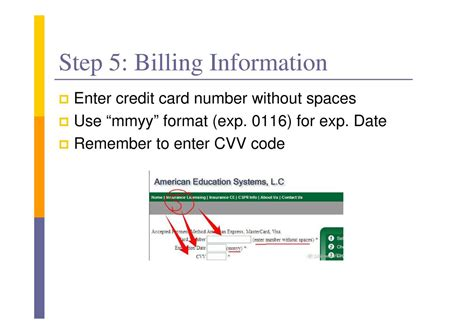 Credit Card Mmyy Format Aes Course User Guide Simplebooklet