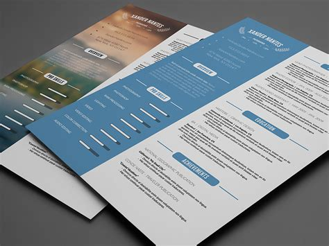 Cursive Q Resume by Resumes Business Card Infographics Print Ad Templates