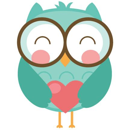 valentines owl owls svg cut file for scrapbooking cardmaking