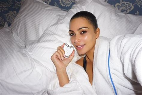 kim kardashian bed kim kardashian stuns in bedroom selfie potrix blog