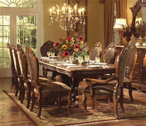 Aico Dining Room Sets Cortina Rectangular Table Dining Room Set By Aico Home Gallery Stores