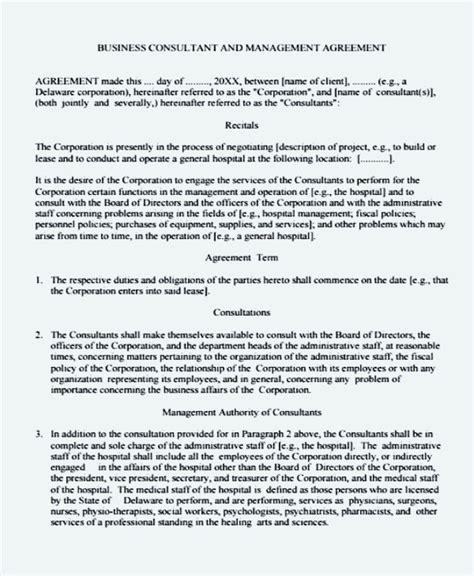 Business management agreement akersart business management agreement business management agreement template sle templates wajeb Gallery