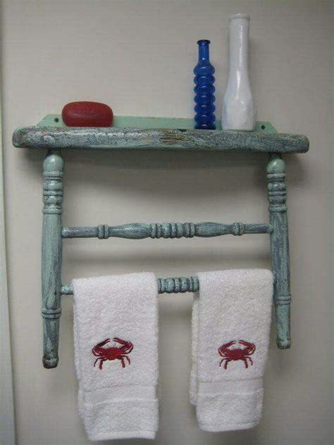 Towel Rack Ideas For Bathroom by Best 25 Bathroom Towel Racks Ideas On Wood